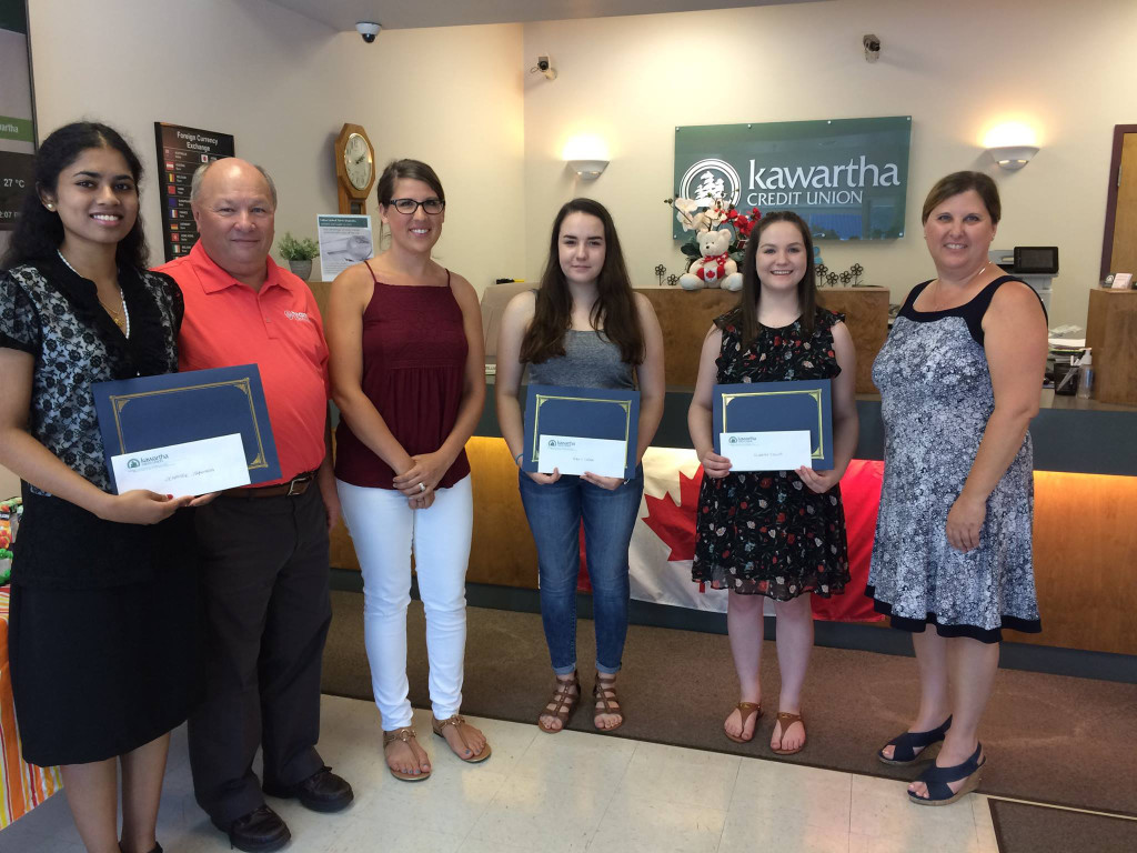 TC-Kawartha-Bursary-Winners-2017
