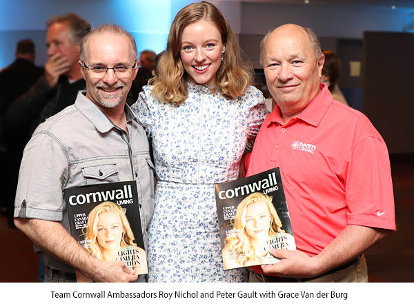 Team Cornwall and Cornwall Living